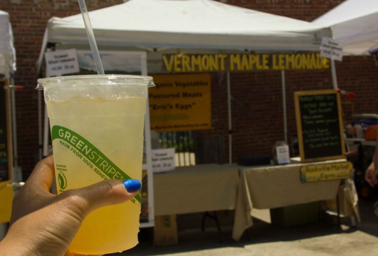 """Smorgasburg Brooklyn lemonade"""