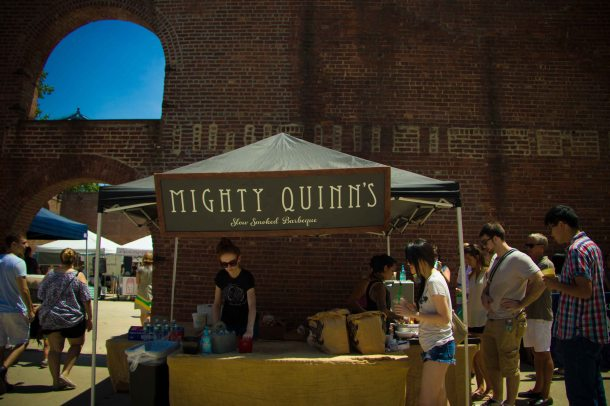 """Smorgasburg Mighty Quinns"""
