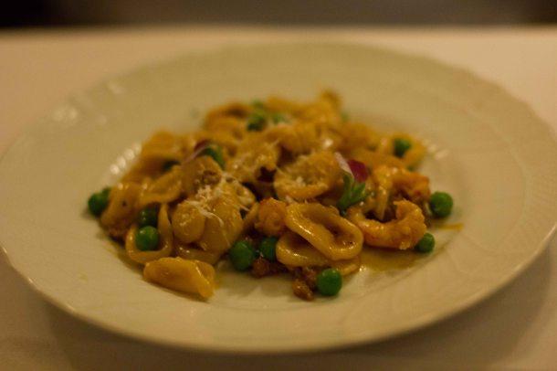 """""""Torrissi Italian Specialties andouille crawfish pasta"""""""