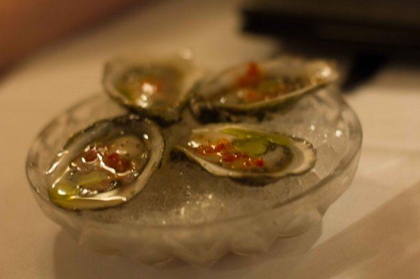 """Torrissi Italian Specialties oysters"""