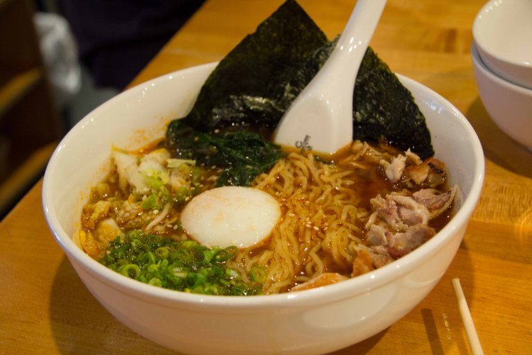 """""""Momofuku Noodle ramen spicy miso"""""""