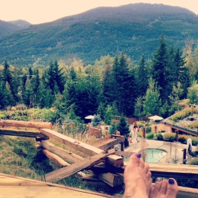 36 hours in Whistler to reset mylife