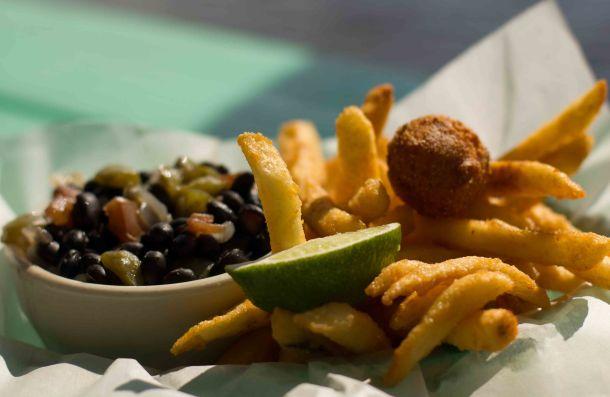 Everglades Triad seafood beand