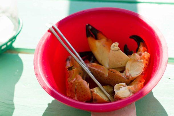 Everglades Triad seafood stone crab