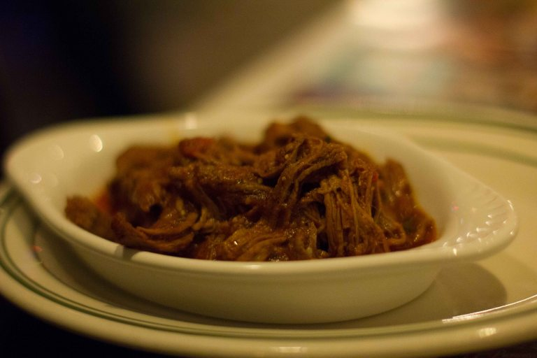 Ropa Vieja - slow cooked shredded meat