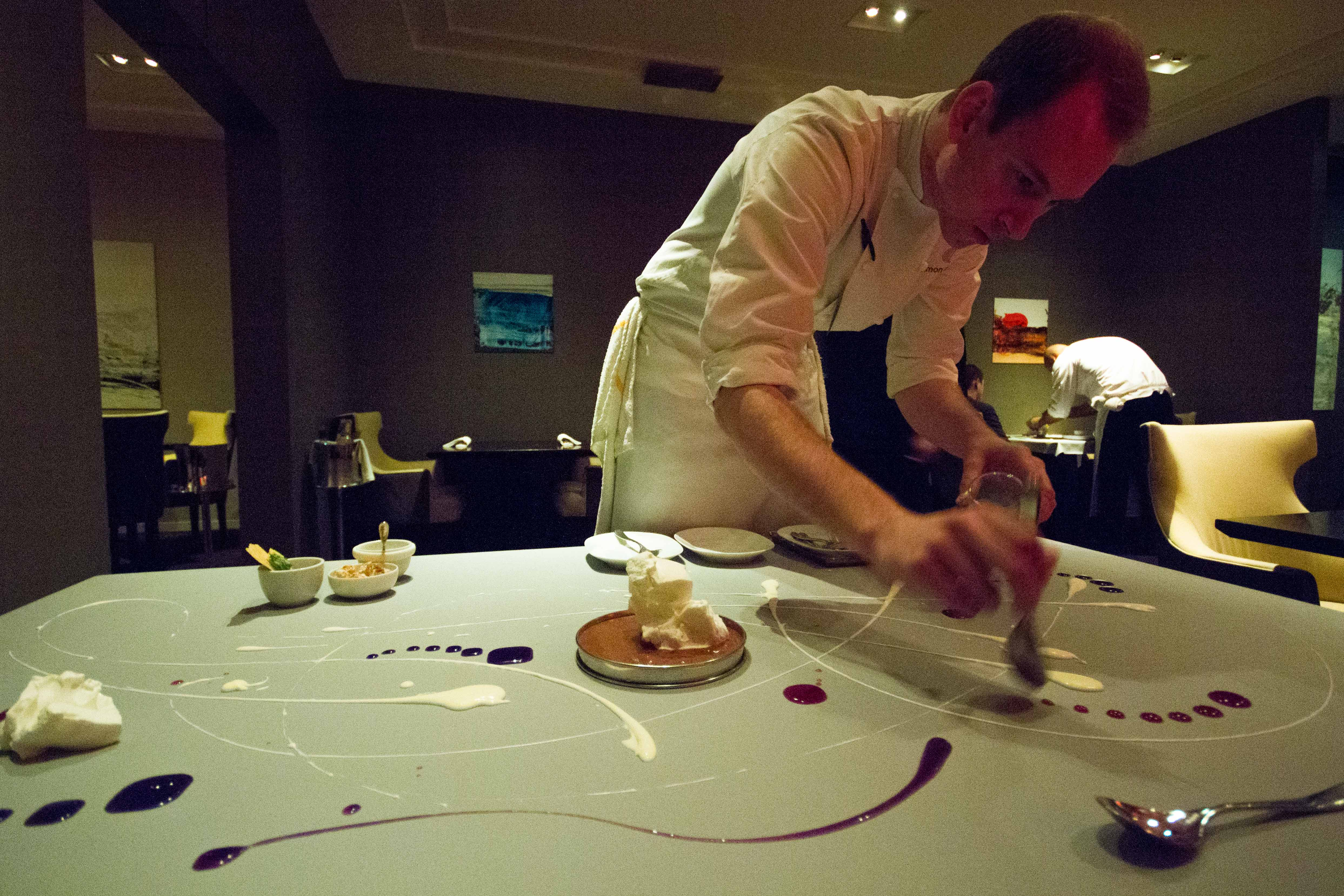 My alinea experience call me a food lover - Table up and down alinea ...