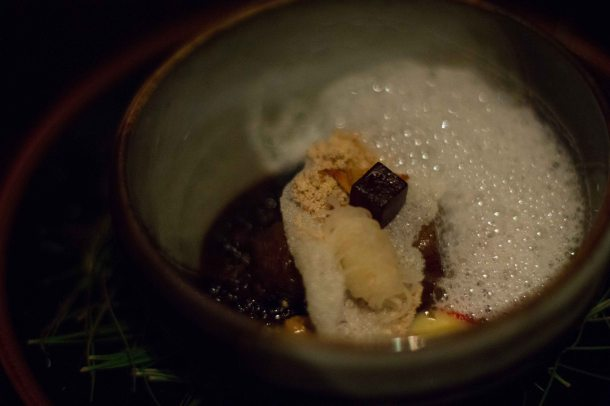 """alinea achatz veal cheek"""