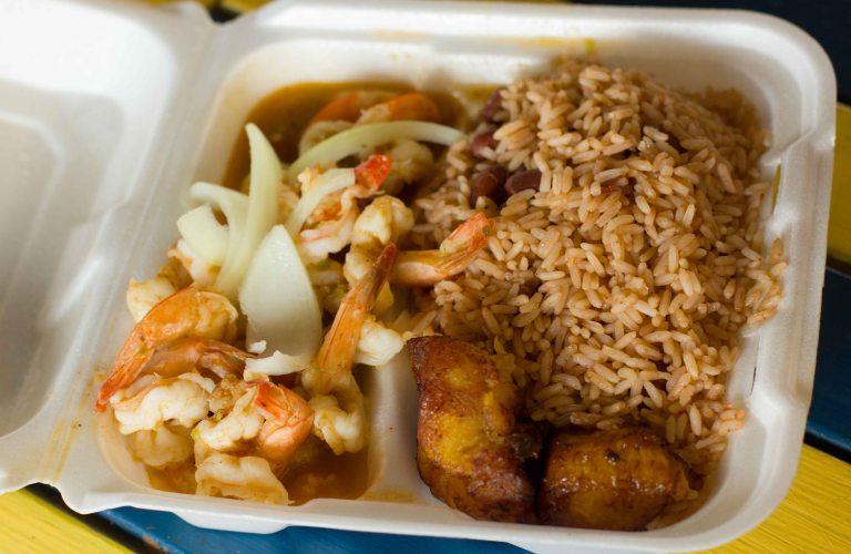 """Chef Creole Miami shrimp"""