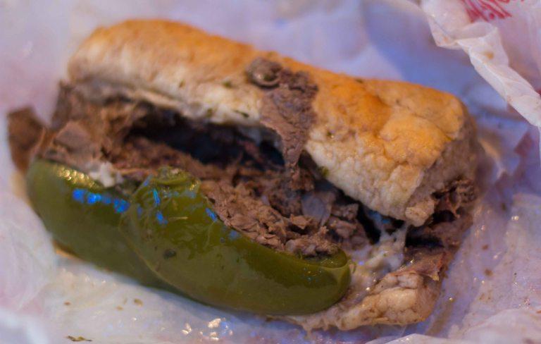 """""""Portillos beef sandwich"""""""