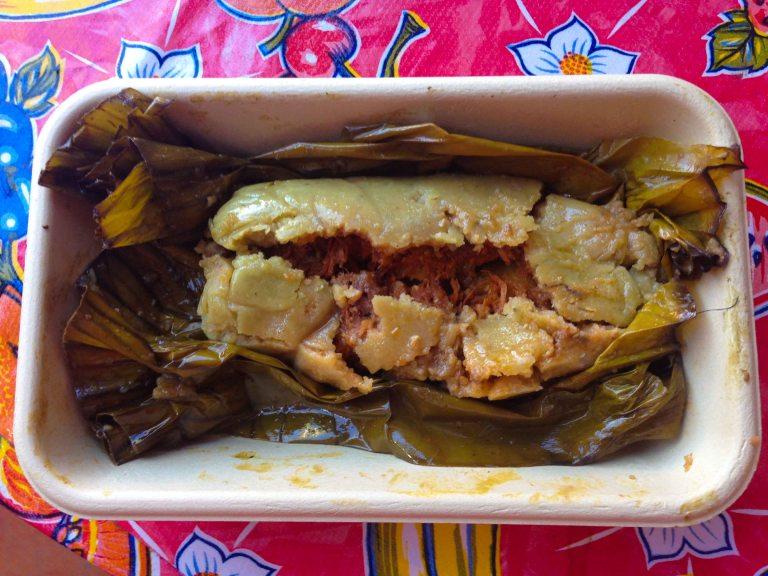 """Oaxaca Zandunga tamale"""