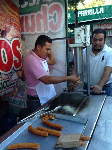 """""""Oaxaca Llano park churro"""""""