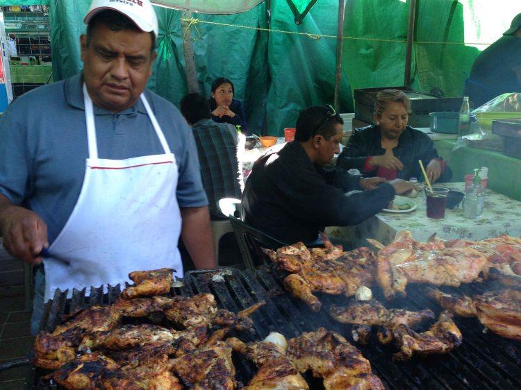 """""""Oaxaca Llano park pollo"""""""