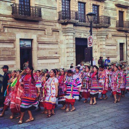 """""""Oaxaca parade 1"""""""