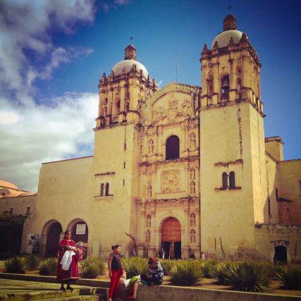"""Oaxaca Santo Domingo front"""
