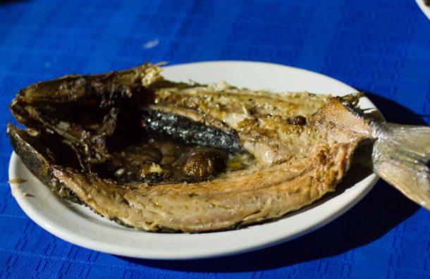 """La Teca Oaxaca fish"""