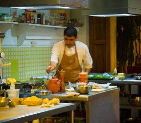 """Peek"" meal at Origen with ChefRodolfo"