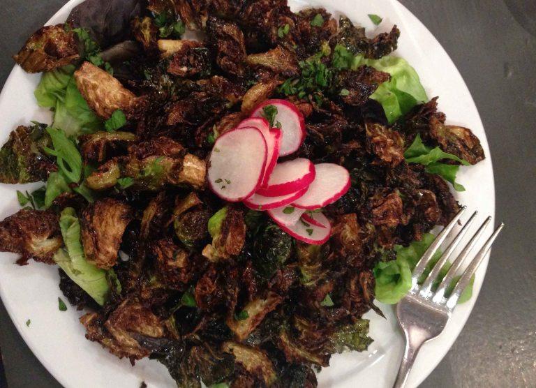 """""""Leodas Maui fried salad"""""""