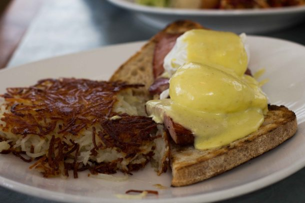 """Boon Fly Cafe Napa eggs benny"""