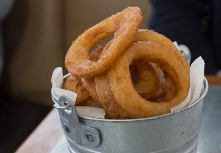 """Boon Fly Cafe Napa onion rings"""