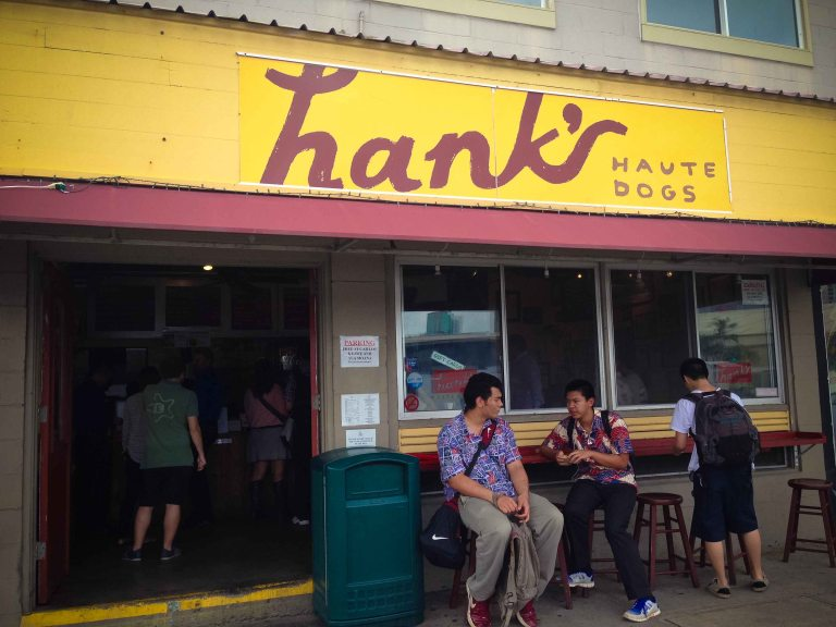 """Hanks haute dog Honolulu"""