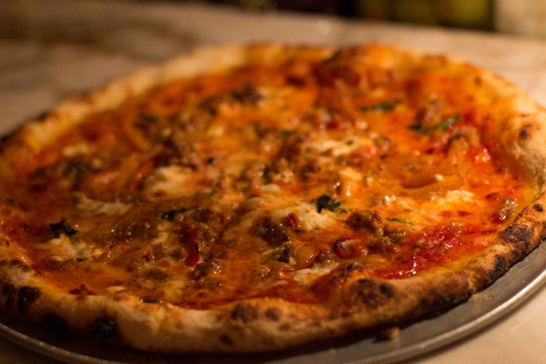 """Redd Wood Yountville pizza"""