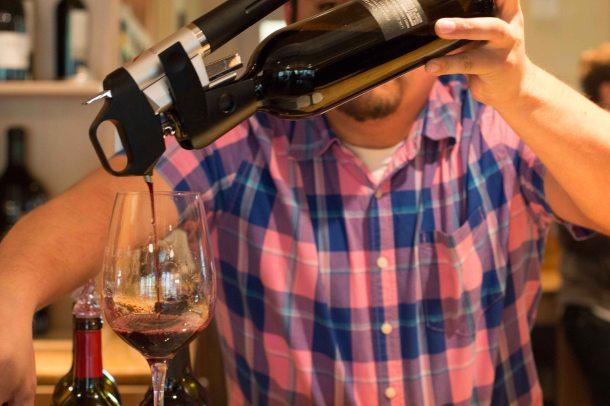 """Coravin wine"""
