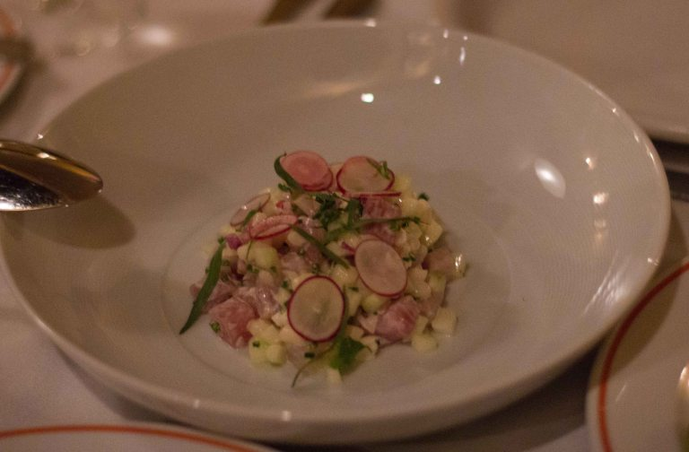 """Charleston Fig tartare"""