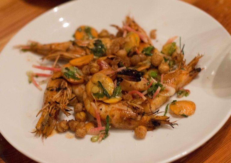 """Charleston Grocery white shrimp"""