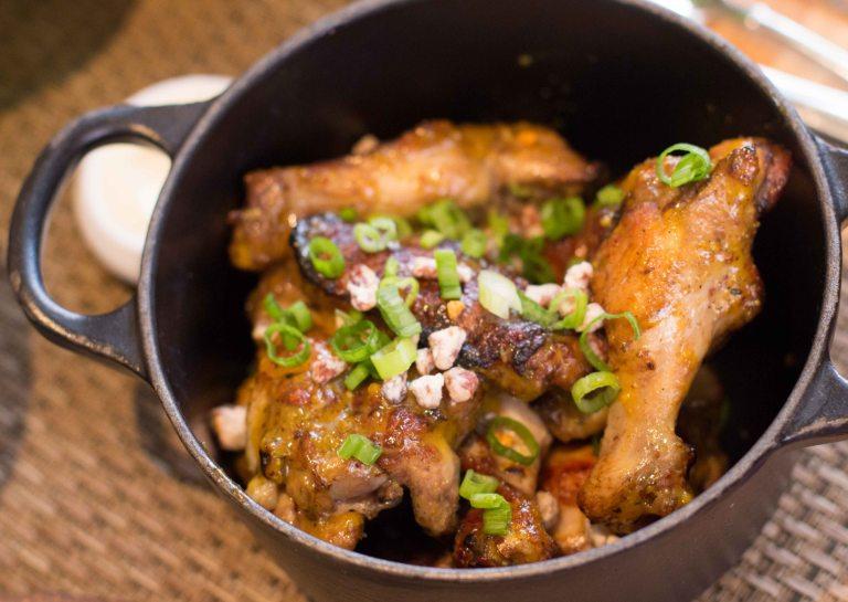 """Husk Charleston Chicken wings"""
