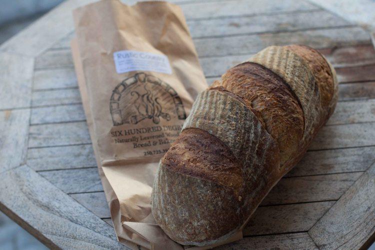 Tofino 600 degrees bread