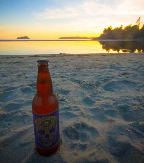 Tofino brewery sunset