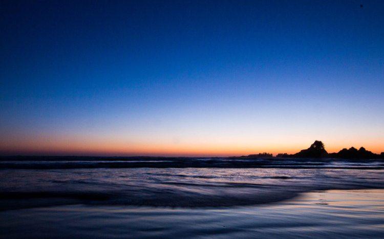 Tofino Cox Bay sunset