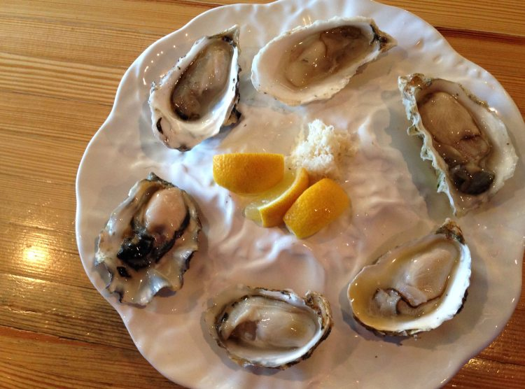 Tofino Fish Store oysters