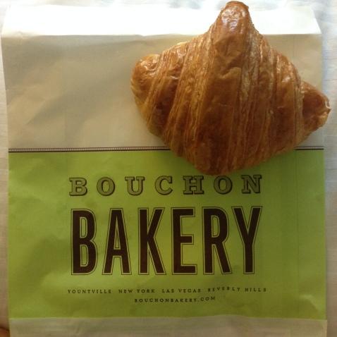 Bouchon Bakery Yountville Napa croissant