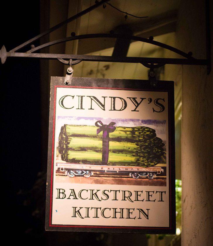 Cindy Backstreet Kitchen Napa