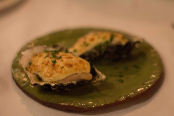 """Cindy's Backstreet Kitchen oysters"""
