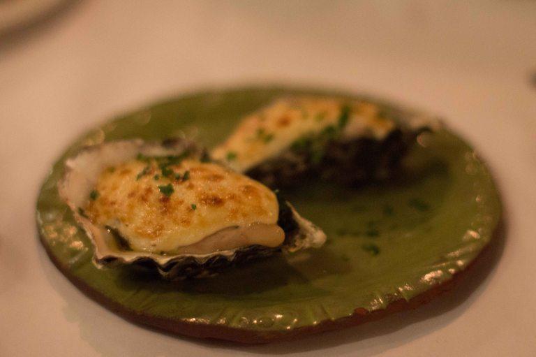 """Cindy's Backstreet Kitchen oysters"""