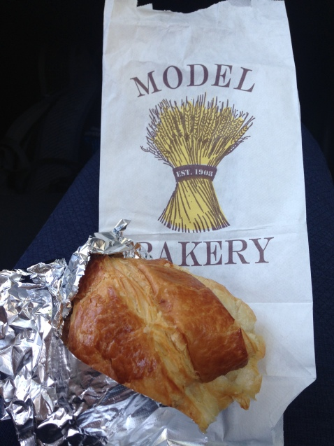"""""""Model Bakery St Helena Napa croissant"""""""