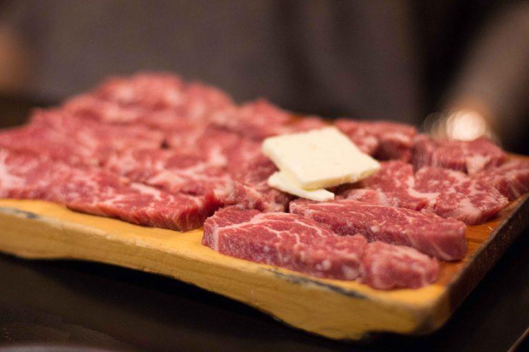 """Honey Pig LA K-Town Koreatown beef"""