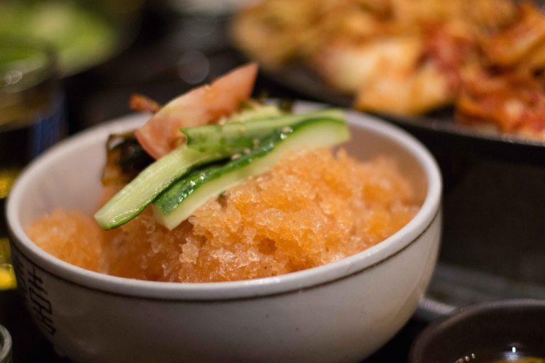 """""""Honey Pig LA K-Town Koreatown ice noodles"""""""