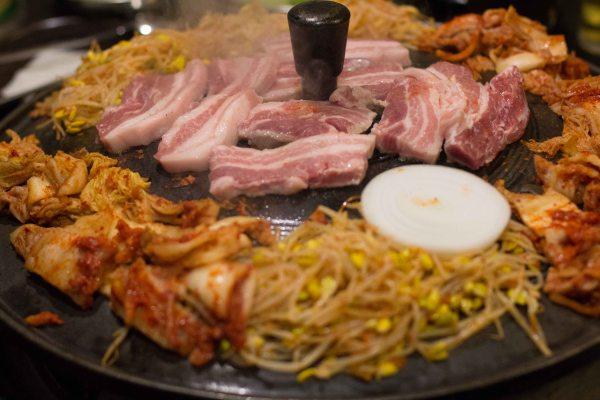 """""""Honey Pig LA K-Town Koreatown pork belly"""""""