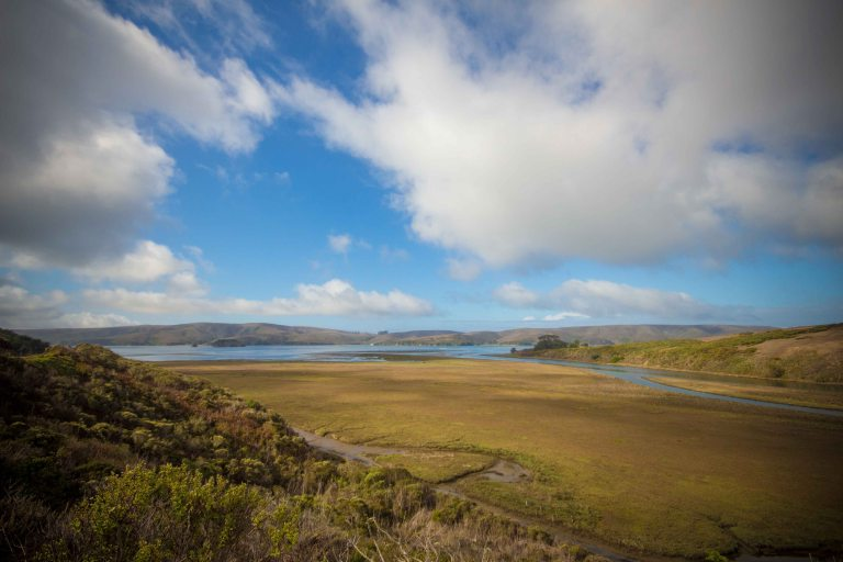 First view of the coast in Marin County