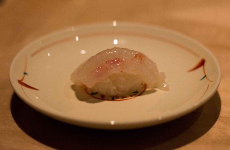 """Nozawa Bar LA Beverly Hills santa barbara shrimp"""
