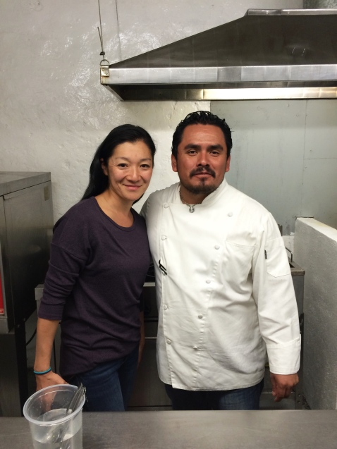 Gracias Chef Rojas for a great meal!