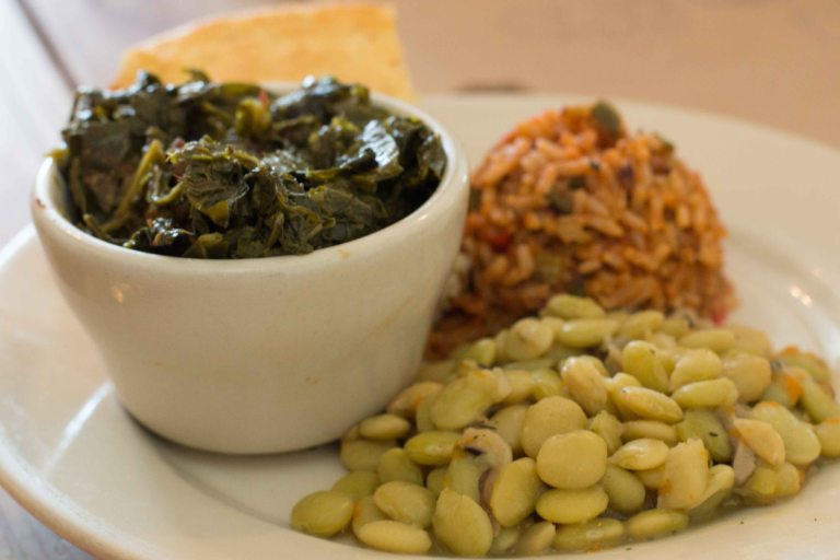 """Charleston Hominy Grill greens"""