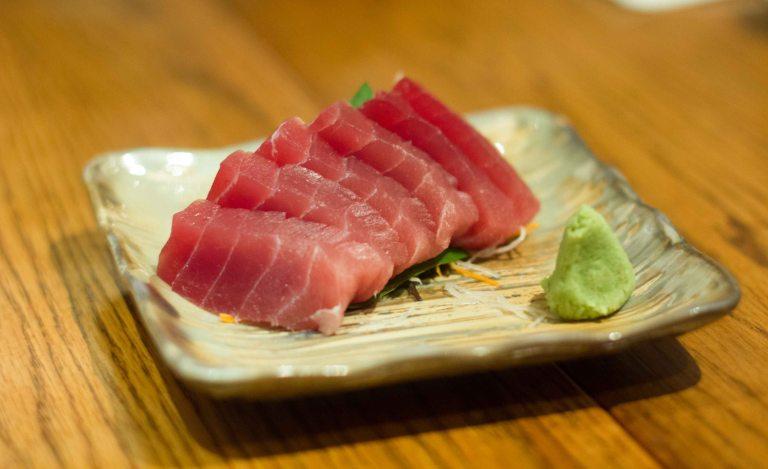 """""""Honolulu Izakaya Gaku ahi sashimi"""""""