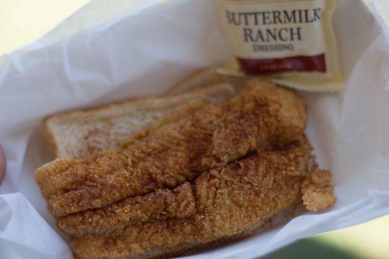 """""""Nashville Hot Chicken festival Boltons fish"""""""