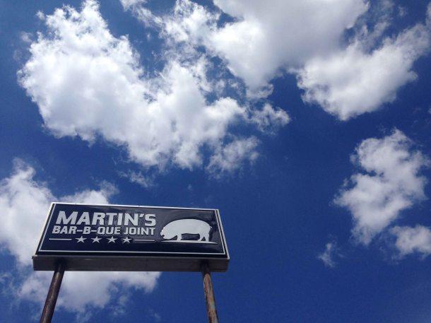 """Nashville Martins bbq"""