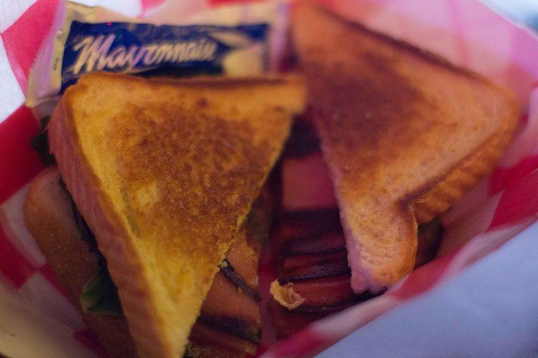 """Nashville Roberts Western bologna sandwich"""