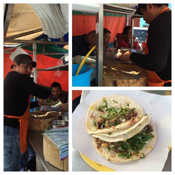 """""""Oaxaca head taco"""""""
